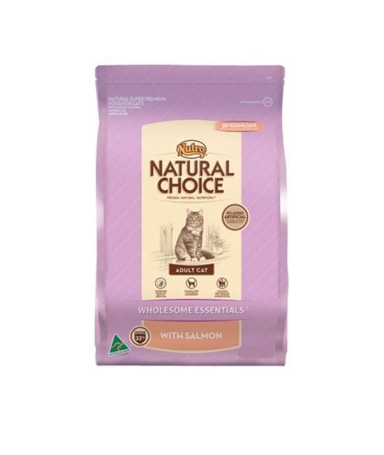 Nutro Natural Salmon Adult Dry Cat Food 3kg