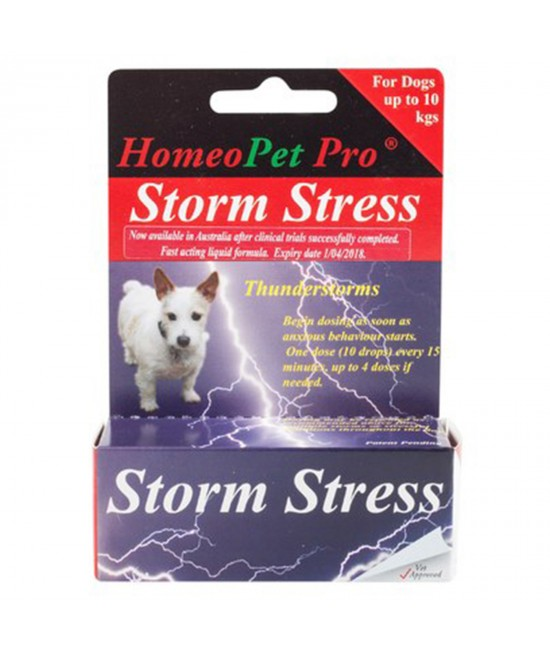 HomeoPet Storm Stress 0-10kg For Dogs 15ml