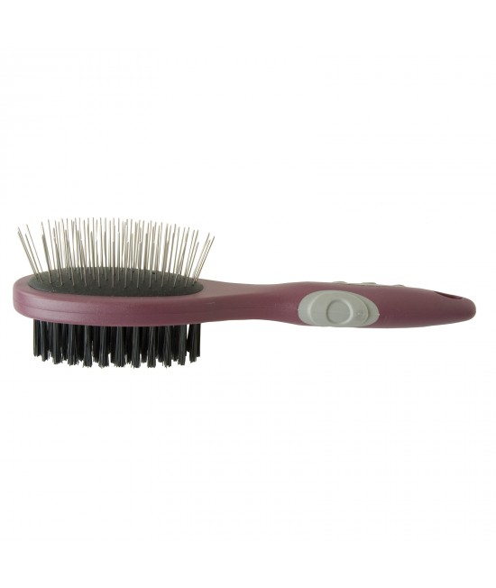 Trouble & Trix GlamourPuss 2 in1 Combo Brush For Cats