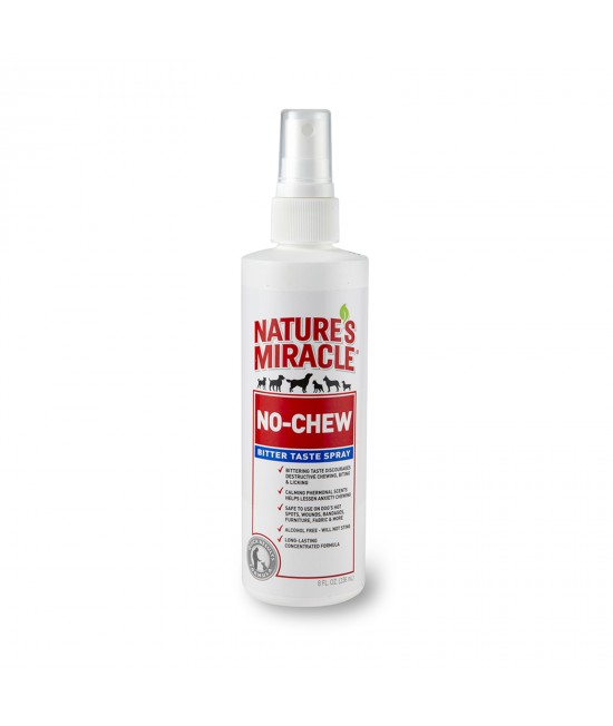 Natures Miracle No Chew Bitter Taste Spray For Dogs 236ml