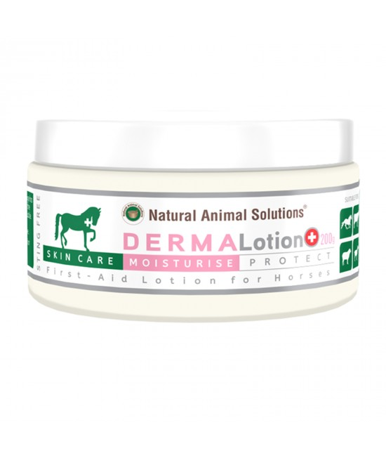 Natural Animal Solutions(NAS) Dermalotion Skin Care For Horses Cattle And Livestock 200gm