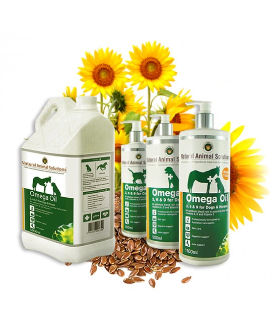 Natural Animal Solutions(NAS) Omega 3,6 & 9 Oil For Cats 200ml