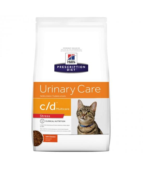 Hills Prescription Diet Feline c/d Urinary Care Multicare Stress Dry Cat Food 2.9kg (2839)