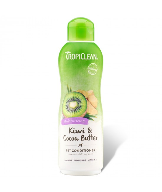 Tropiclean Kiwi And Coco Butter Moisturizing Conditioner For Cats And Dogs 355ml