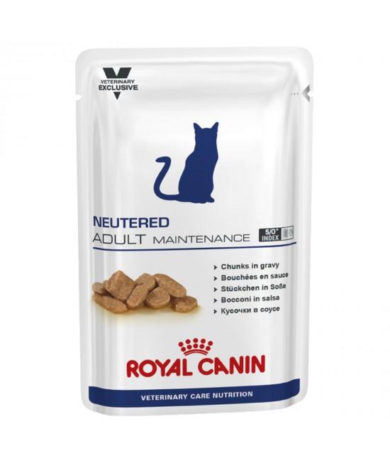 Royal Canin Vet Care Feline Neutered Adult Maintenance Pouch For Cat 100gm x 12 (ABB69)