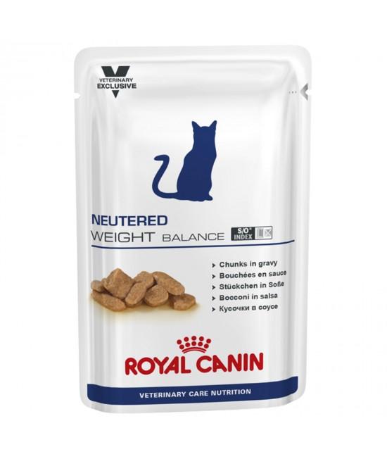 Royal Canin Vet Care Feline Neutered Weight Balance Pouch For Cat 100gm x 12 (ABB65)