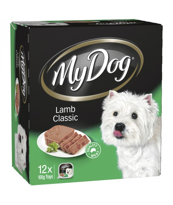 My Dog Lamb Classic Adult Canned Wet Dog Food 100gm x 12