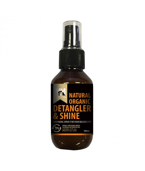 Meals for Mutts MfM Natural Organic Detangler And Shine Grooming Spray For Dogs 100ml