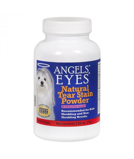 Angels Eyes Natural Tear Stain Prevention Powder For Dogs And Cats 75g