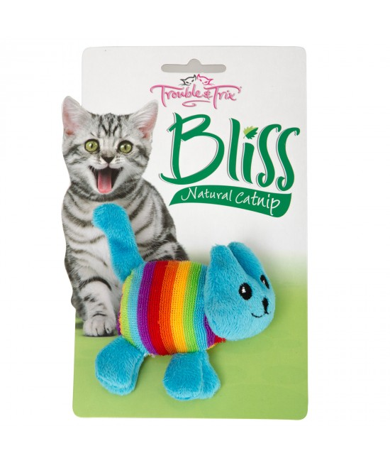 Trouble & Trix Bliss Cat Large Toy With Catnip For Cats