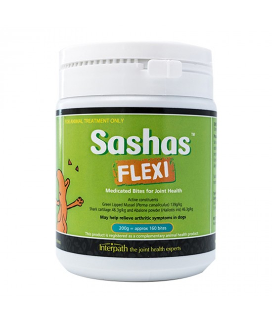 Sashas Blend Flexi Chews For Joint Health In Dogs 200gm