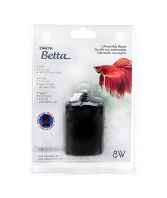 Marina Betta Submersible Heater 8W For 2-5L Aquariums