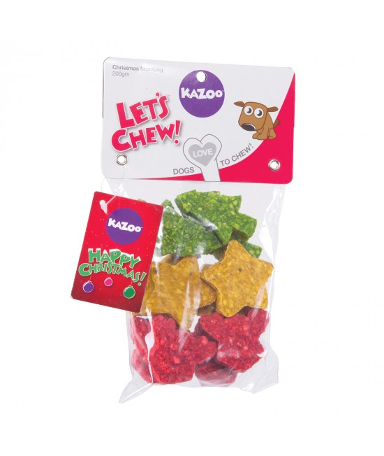 Kazoo Christmas Mini Assortments Munchy Treats For Dogs 150gm