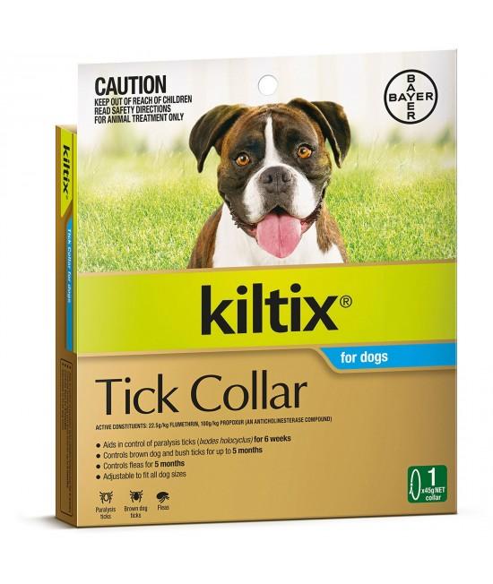 Kiltix Tick Collar For Dogs