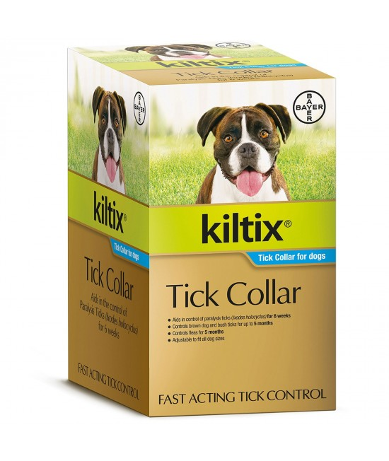 Kiltix Tick Collar For Dogs X 10
