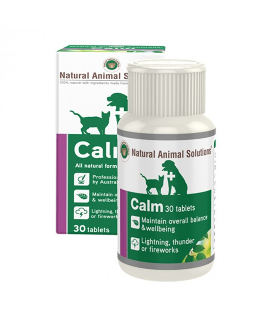 Natural Animal Solutions(NAS) Calm For Dogs And Cats 30 Tablets