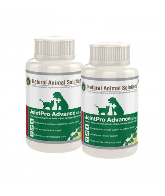 Natural Animal Solutions Joint Pro Advance For Dogs And Cats 120 Caps (60 Caps x 2)