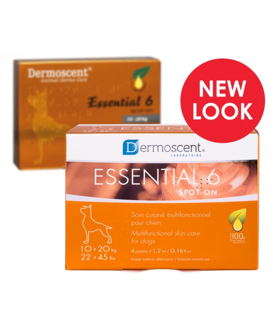 Dermoscent Essential 6 Spot on Skin Care For Large Dogs 20-40kg
