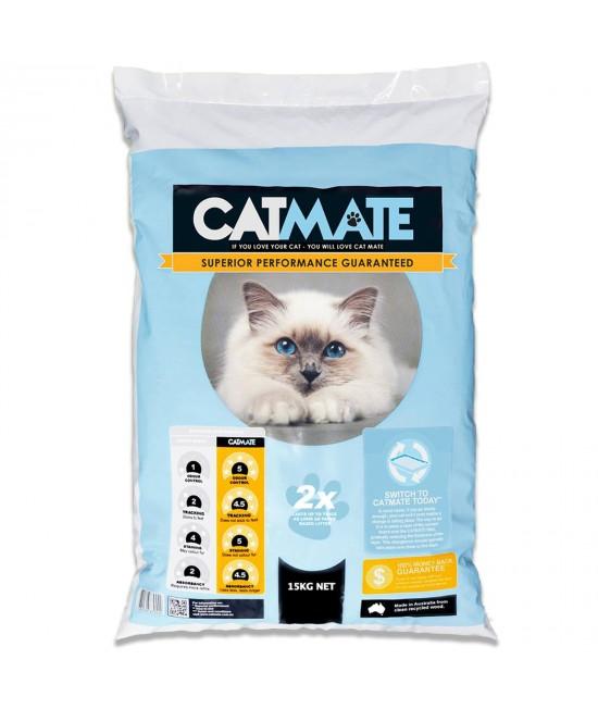Catmate Wood Pellet Cat Litter 15kg