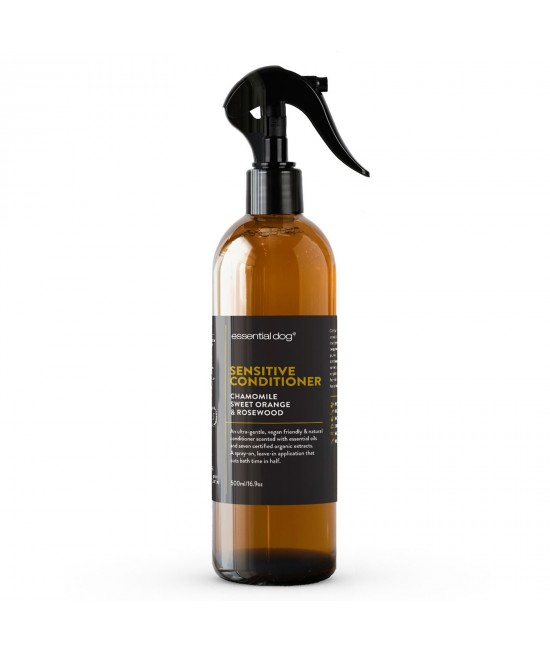 Essential Dog Sensitive Conditioner Chamomile Sweet Orange And Rosewood For Dogs 500ml
