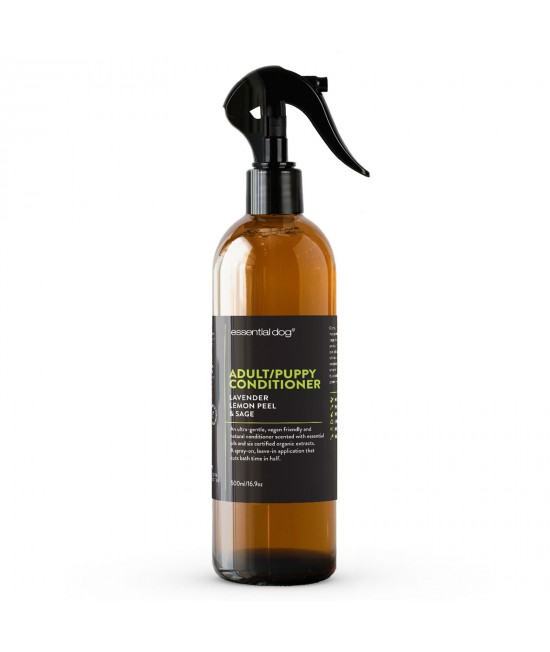 Essential Dog Conditioner Lavender Lemon Peel And Clary Sage For Dogs And Puppies 500ml