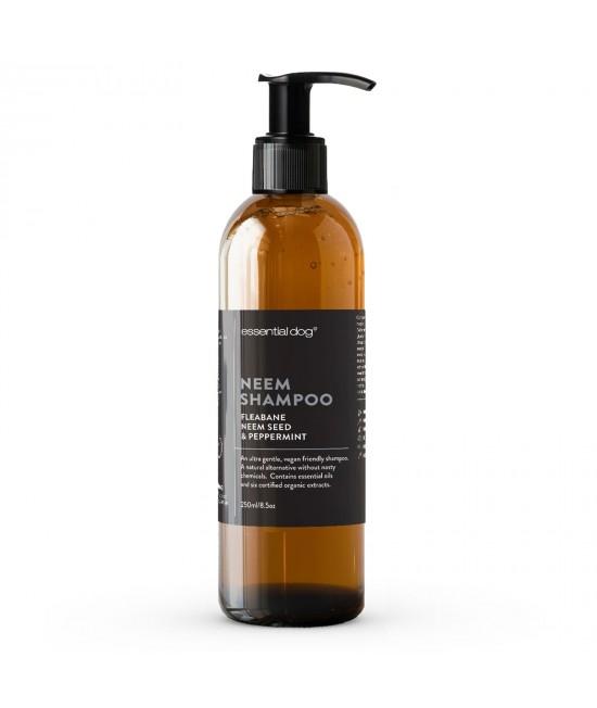 Essential Dog Moisturising Shampoo Neem Seed Fleabane And Peppermint For Dogs 250ml
