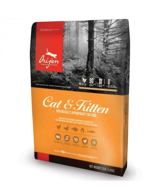 Orijen Cat And Kitten Dry Food 5.45kg