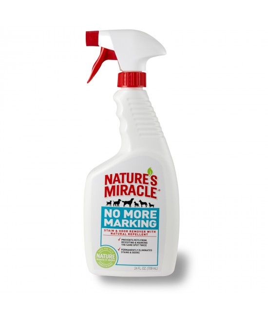 Natures Miracle No More Marking Pet Stain & Odour Remover With Natural Repellent 709ml