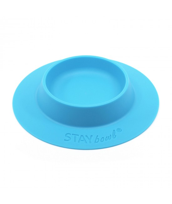 STAYbowl Tip Proof Bowl Large 3/4 Cup Blue For Small Pets
