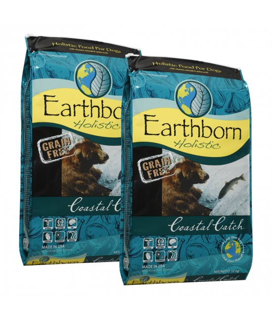 Earthborn Grain Free Coastal Catch Whitefish Dry Dog Food 24kg