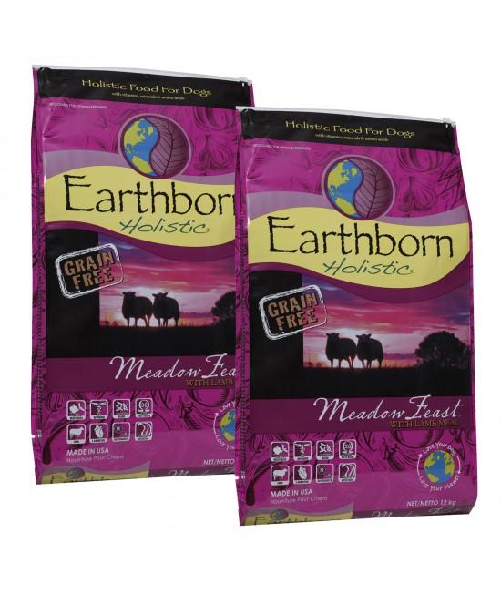 Earthborn Grain Free Meadow Feast Lamb Dry Dog Food 24kg