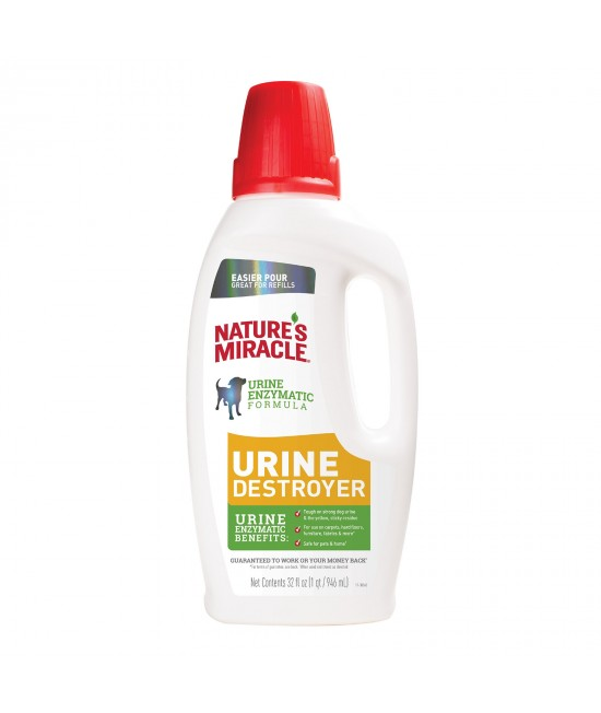 Natures Miracle Urine Destroyer Enzyme Cleaner For Dogs 946ml