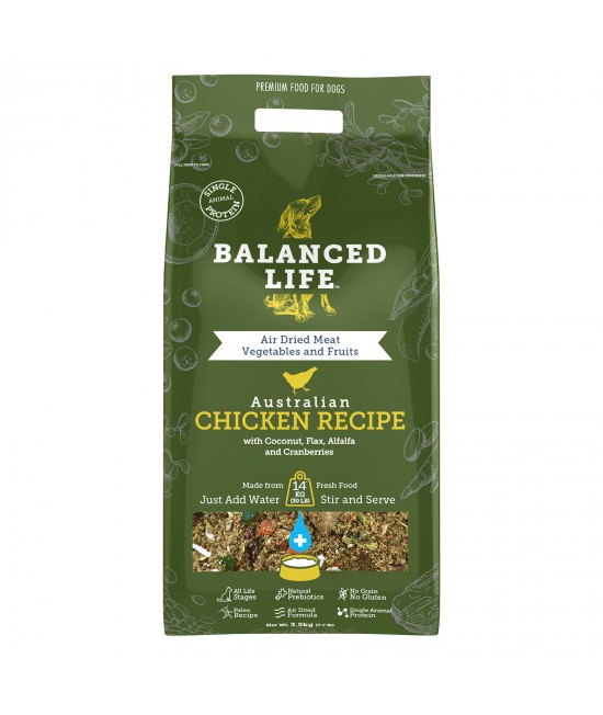 Balanced Life Grain Free Chicken Recipe Puppy And Adult Rehydratable Dog Food 3.5kg