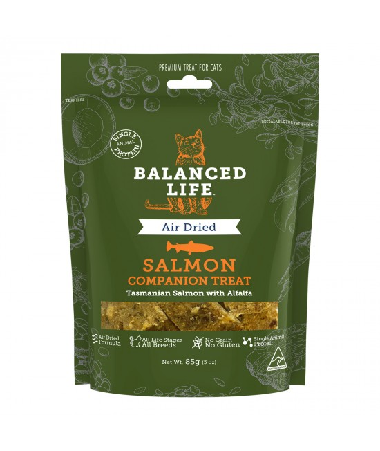 Balanced Life Grain Free Salmon Companion Treats For Cats 85gm