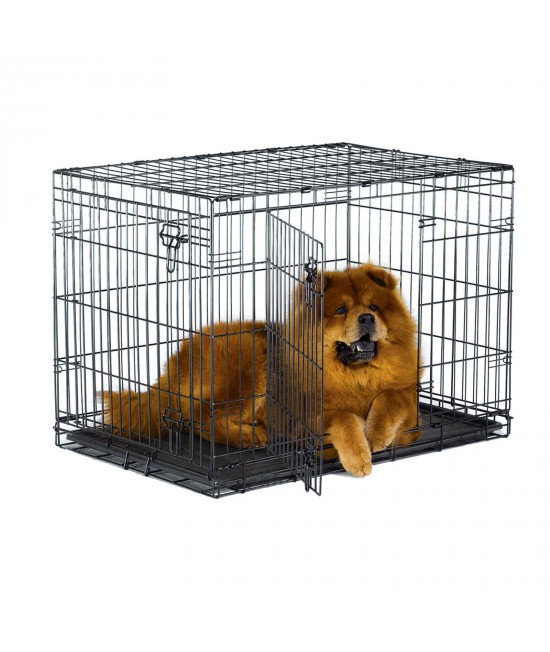 Metal Dog Crate Double Door 36inch