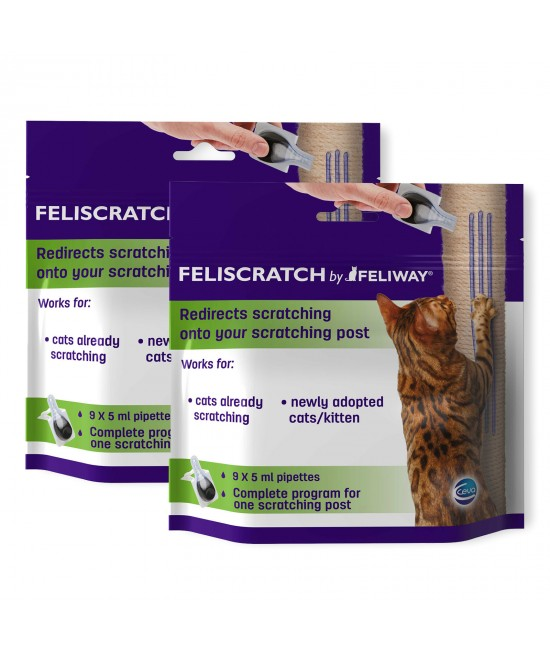 Feliscratch By Feliway Scratching Solution For Kittens And Cats x 2