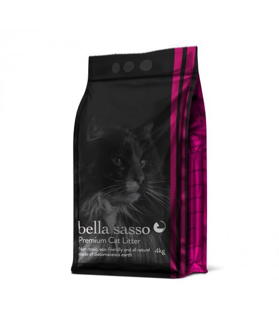 Bella Sasso Premium Natural Litter For Cats 4kg
