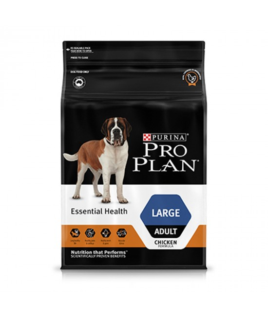 Pro Plan Essential Health Chicken Large Breed Adult Dry Dog Food 15kg