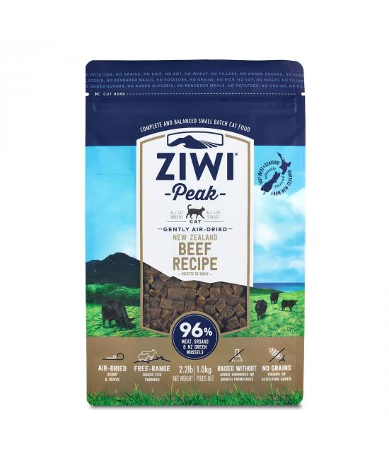 Ziwi Peak Grain Free Beef Kitten And Adult Air Dried Meat Cat Food 1kg
