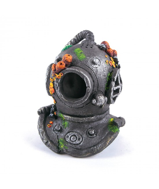 Kazoo Aquarium Divers Helmet With Air Medium Ornament For Fish Tank