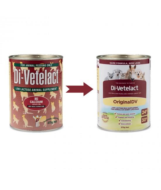 Di-vetelact Animal Supplement 375gm Divetelact