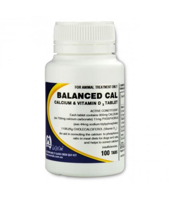 Mavlab Balanced Calcium 100 Tablets