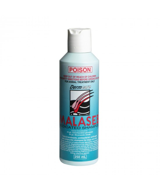 Malaseb Medicated Shampoo For Dogs and Cats 250ml